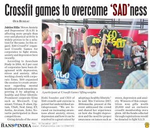 Crossfit Games to Overcome Sadness