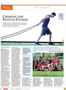 Crossing the path to fitness by X60 Crossfit