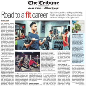 Career in the fitness industry