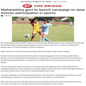 Women participation in sports