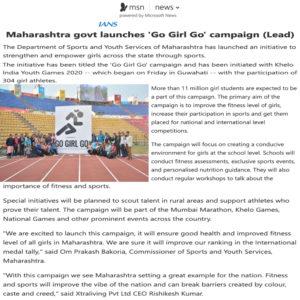 Go Girl Go Campaign