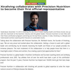 Precision Nutrition collaboration