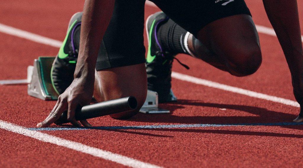 athlete, runner, sprint